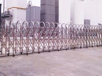 Cổng xếp điện